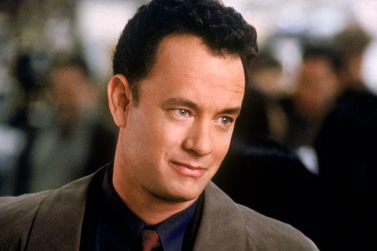 Tom Hanks in de jaren '90, toen de populaire reeks 'Friends' op televisie liep. De acteur moest op het laatste moment afzeggen voor een gastrol in het voorlaatste seizoen van de sitcom.