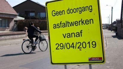 Tal van asfalteringswerken gaan eind april van start