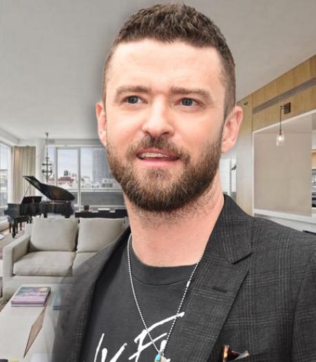 Justin Timberlake verlaagt prijs luxe optrekje New York naar 5,6 miljoen