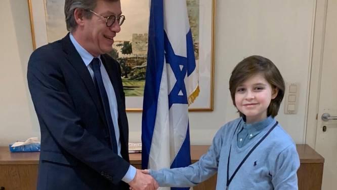 """Le petit génie belge veut étudier en Israël et """"changer le monde"""""""