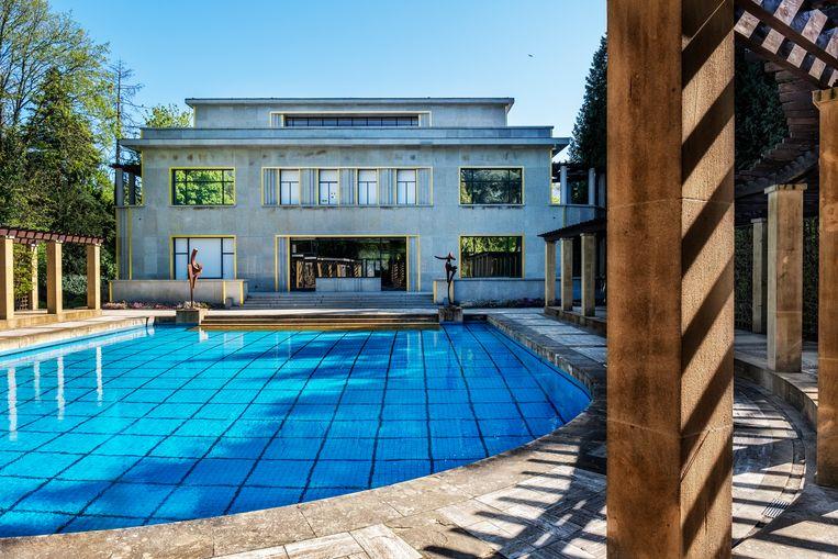 De Villa Empain, nu de Boghossian Stichting, een parel van art deco. Beeld Tim Dirven