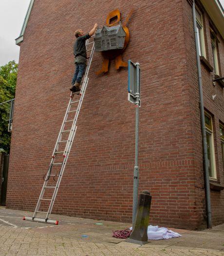 Daar is ie dan: Walk of the town, een stadsroute in Nijmegen, gemarkeerd met kunst