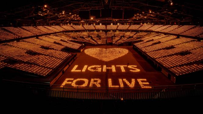 'Lights for Live' verkoopt het Sportpaleis volledig uit