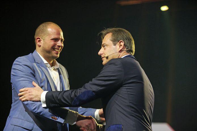 Theo Francken en Bart De Wever.