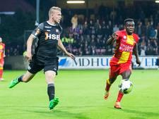 Ghanees Eghan ontbreekt ook  tegen Fortuna en Jong AZ