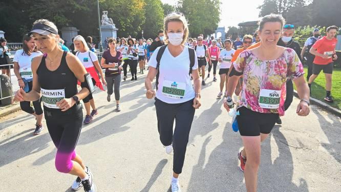 La reine Mathilde a participé à la 41e édition des 20 km de Bruxelles