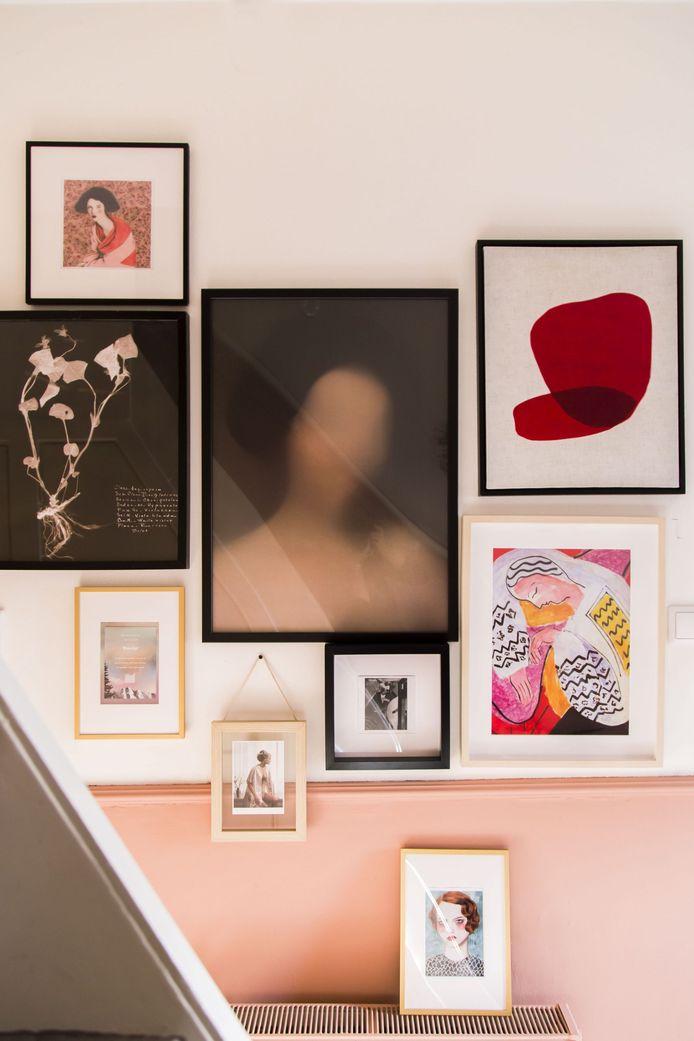 De kunstgalerie als persoonlijke touch in het interieur. Combineer naar eigen inzicht.