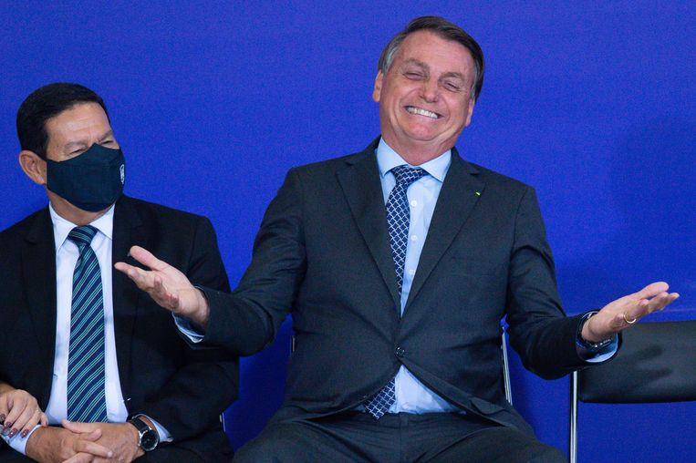 President Jair Bolsonaro. Beeld Getty Images