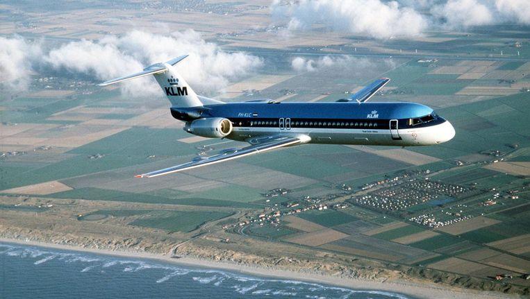 Fokker 100. Beeld anp