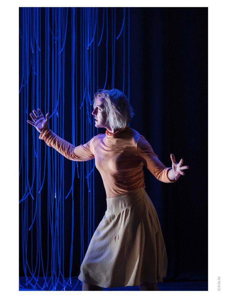 Actrice Sofie Decleir leent haar stem aan 'Kates Tapes Away'. Beeld kvde.be