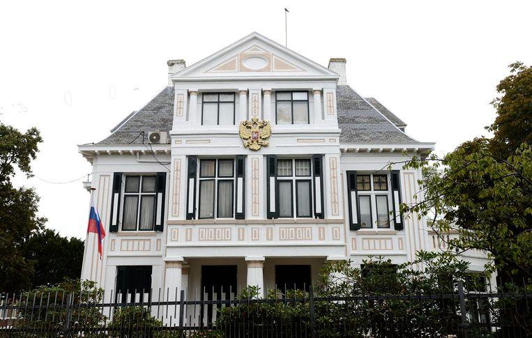 De Russische ambassade in Den Haag. Beeld ANP
