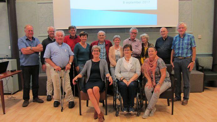 De vrijwilligers van stichting Toegankelijk Meierijstad.