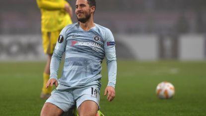Chelsea plaatst zich, Hazard speelt een uur - Boyata wint met Celtic - Proto en Lukaku zien Lazio doorstoten