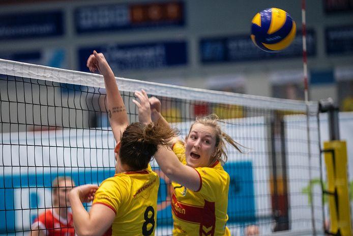 De volleybalsters van Dynamo keren na zeven seizoenen terug in de eredivisie.
