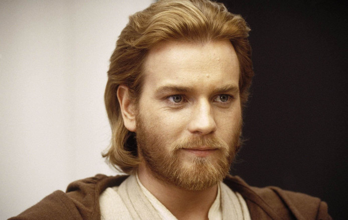 Ewan McGregor als Obi-Wan Kenobi in 'Star Wars Episode II Attack of the Clones'