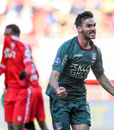 Slordig FC Twente struikelt in eigen huis over veerkrachtig NEC