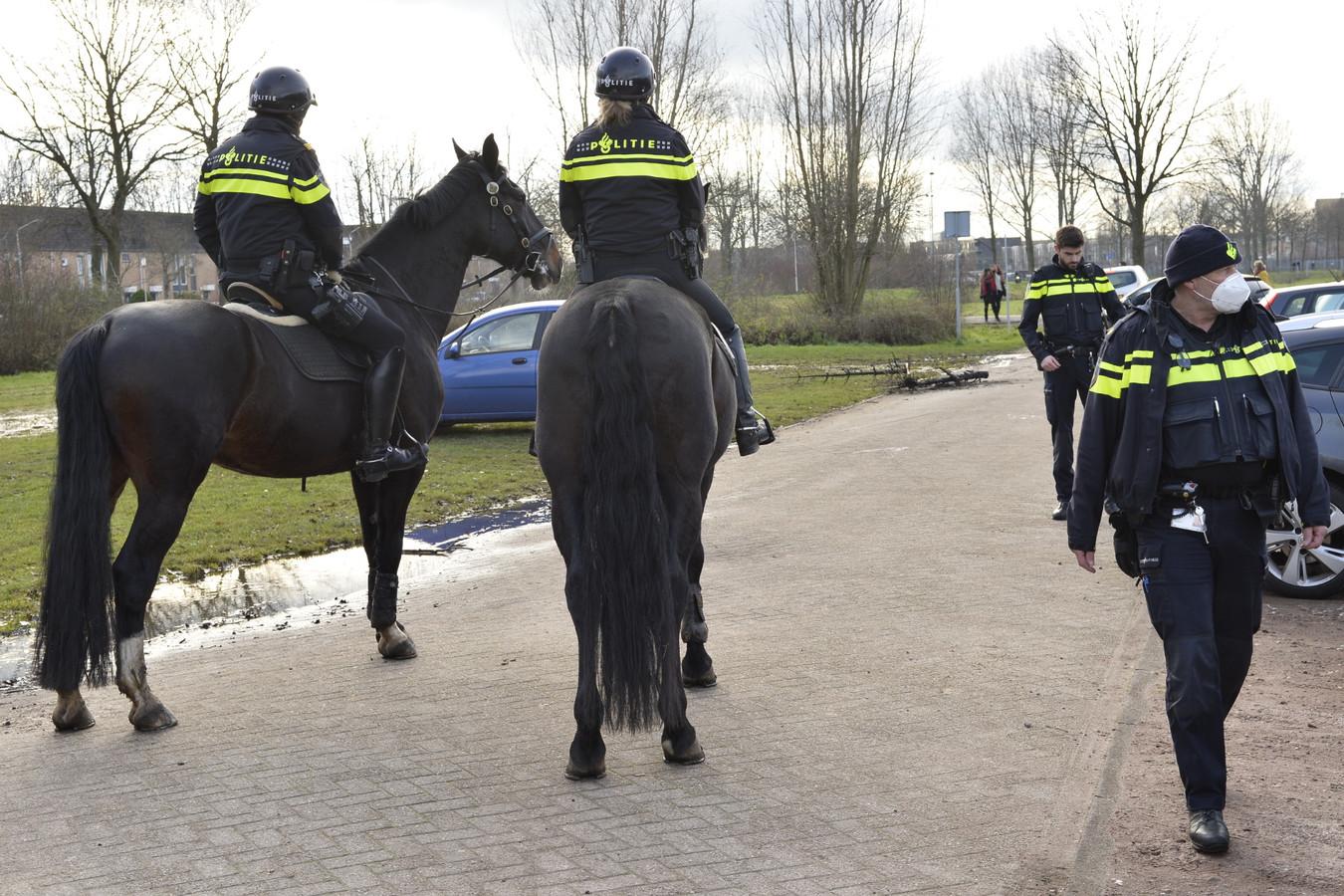 Twee personen aangehouden bij vrijheidswandeling in Breda.