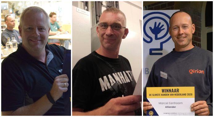 V.l.n.r.: Michiel Kriele, Paul van Leeuwen en Marcel Eenhoorn.