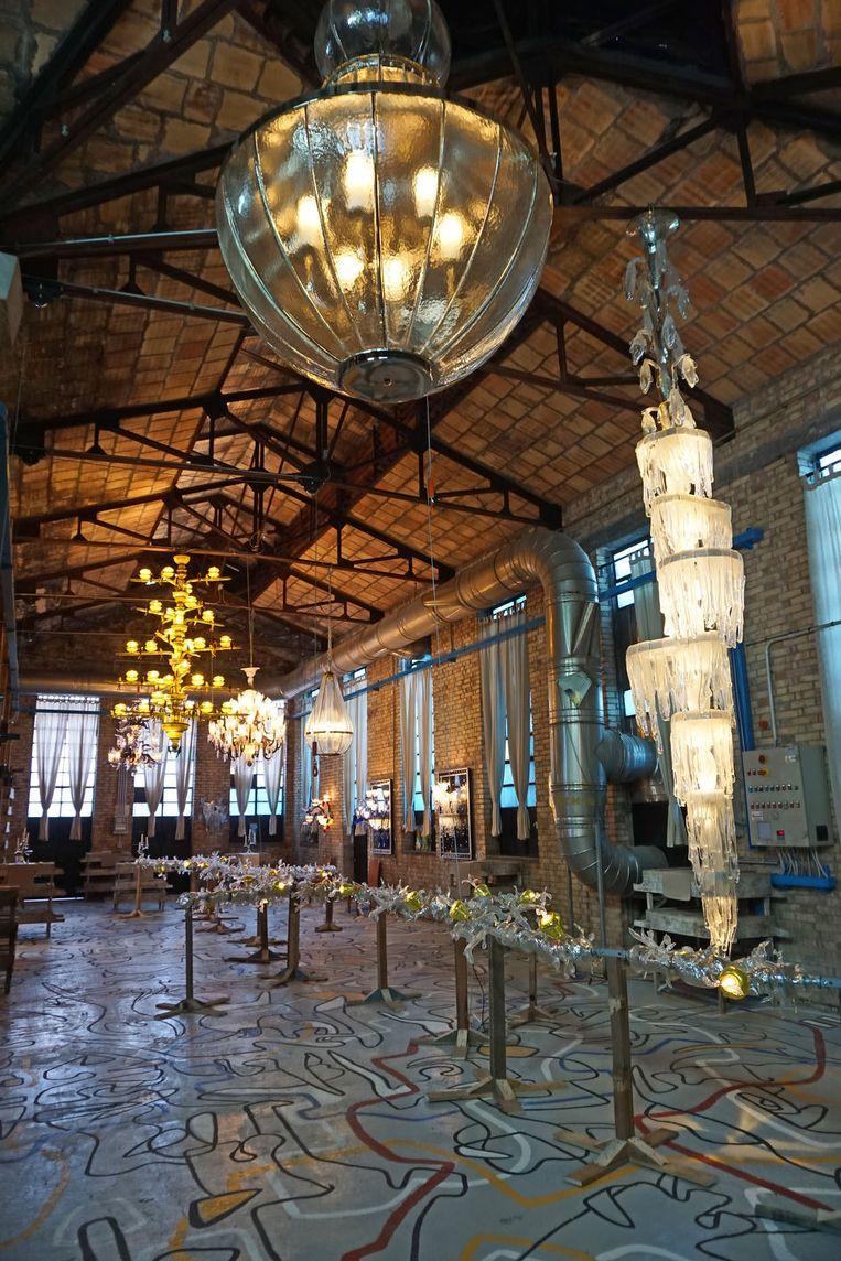 Philippe Starck: 'Ik geregeld langs bij de Franse glasblazer Aristide Najean.' Beeld rv