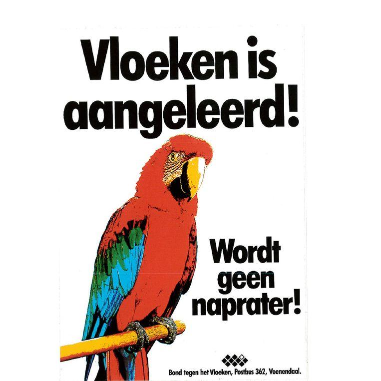 Poster uit 1990. Beeld null