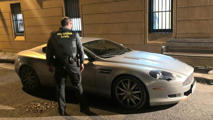 De bij Classic Park in Boxtel gestolen Aston Martin DB9 is midden januari door de Spaanse politie in beslag genomen.