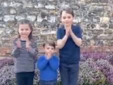 Kinderen van William en Catherine klappen voor zorgmedewerkers