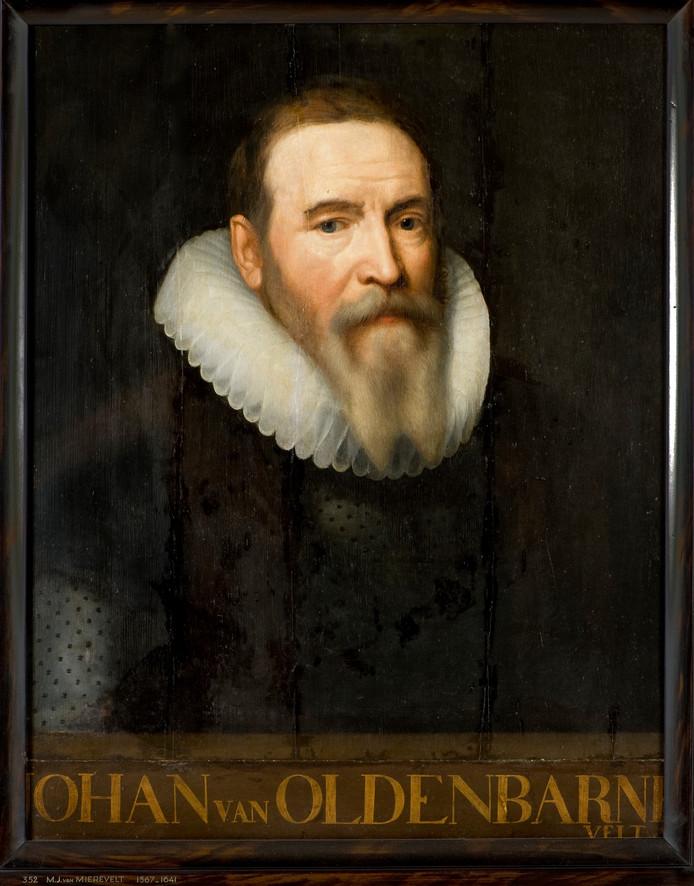 Johan van Oldenbarnevelt, circa 1615 geschilderd door Michel van Mierenvelt.