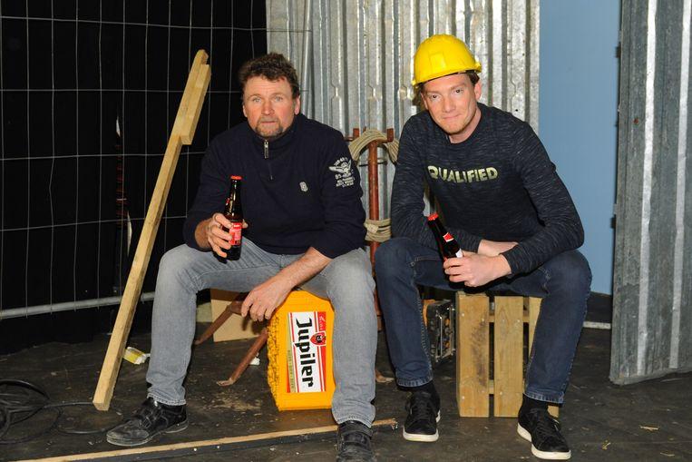 Johan De Bock en Thomas De Loose zijn de twee acteurs die schitteren in Schafttijd.