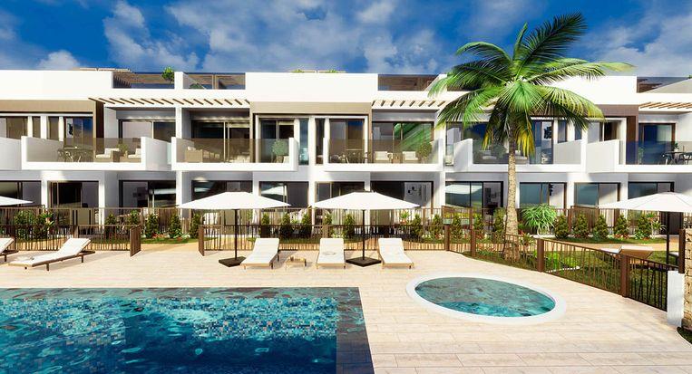 Costa Calida. Los Alcazares, 2 slaap- en badkamers, 149.000 euro.