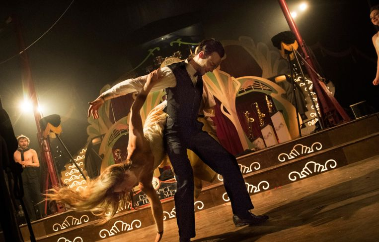 De voorstelling 'Swing' brengt hulde aan het circus van de jaren '40.