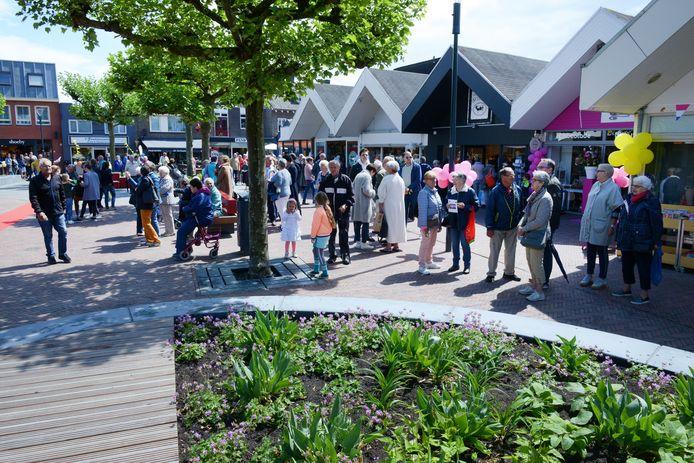 In 2017 werd een opgefrist Looiersplein geopend. Niemand kon toen bevroeden dat drie jaar later het coronavirus roet in het eten zou gooien.