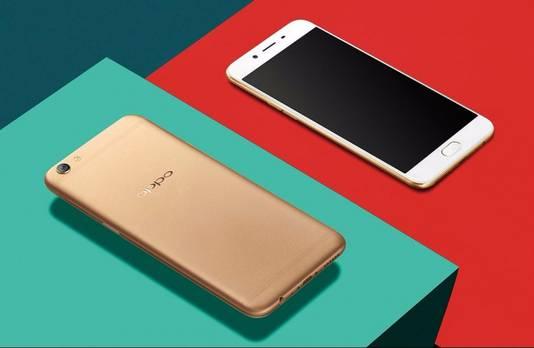 De Oppo R9s smartphone is vooral in India en China erg populair, en komt daardoor op de derde plek