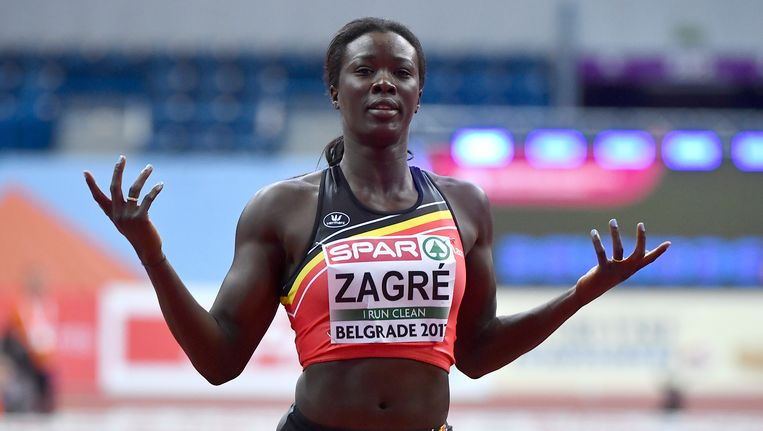 Anne Zagré is de topfavoriete in het hordenlopen