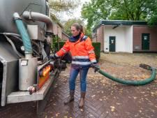 Stevige klus na leidingbreuk: elk half uur giertank vol rioolwater uit Driel en Heteren naar Zetten
