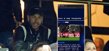 Neymar moet vrezen voor sanctie na tirade: UEFA start onderzoek