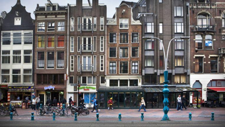 The Exchange komt op de nummers 49, 50 en 51, waarin voorheen Hotel Damrak en De Korenaer waren gevestigd. Foto Floris Lok Beeld