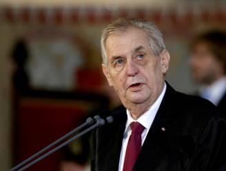 Afzetting dreigt voor Tsjechische president Zeman