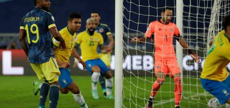 Brazilië boekt ver in blessuretijd controversiële zege in Copa América