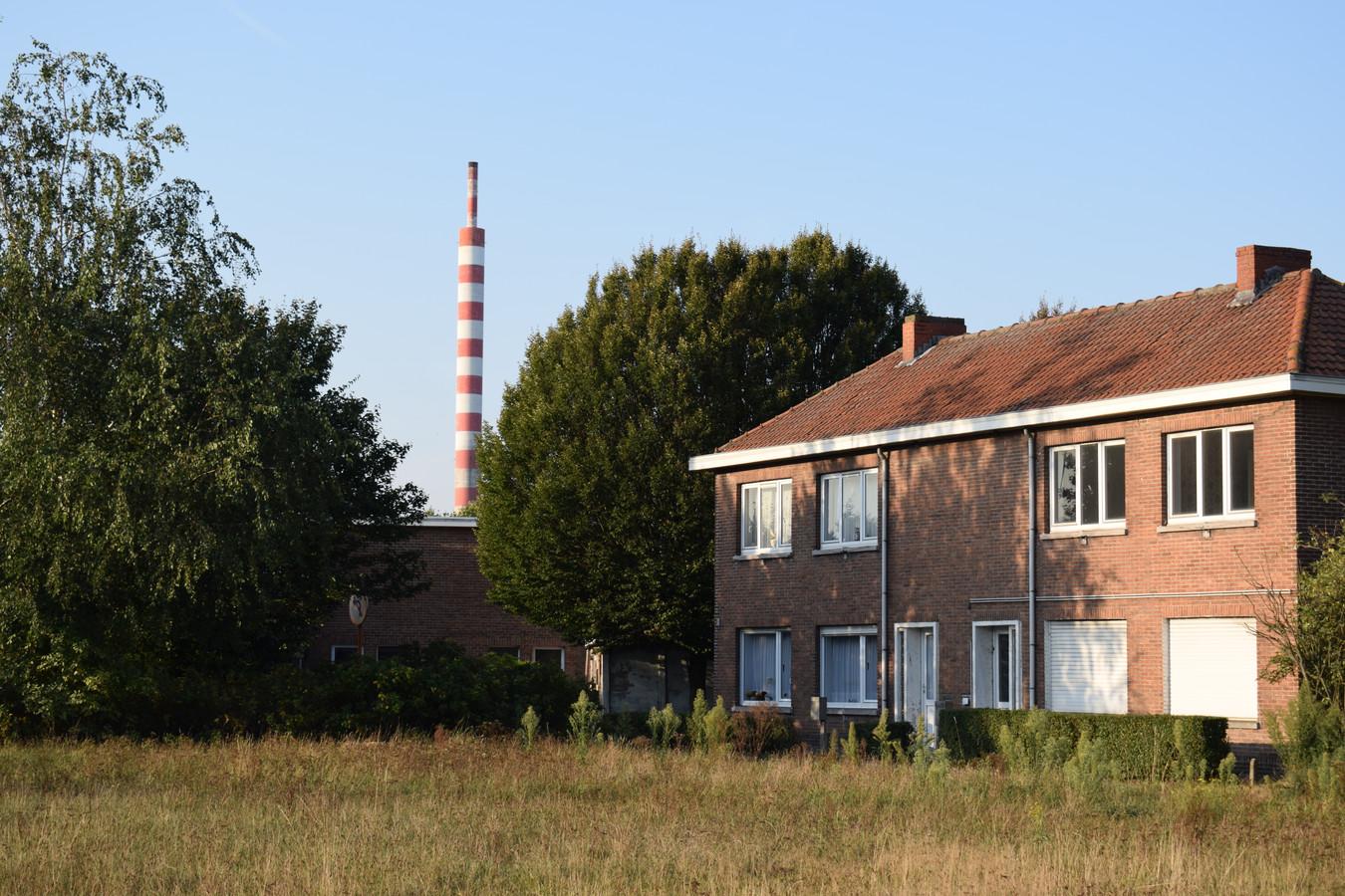 De befaamde Kuhlmanschouw gezien vanuit de wijk Klein Rusland.