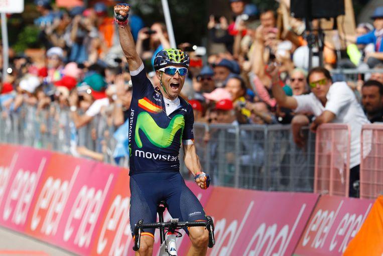 Uiteindelijk werden Valverde... Beeld AFP