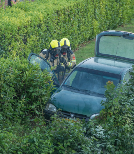 Man maakt dollemansrit en crasht in Tholen