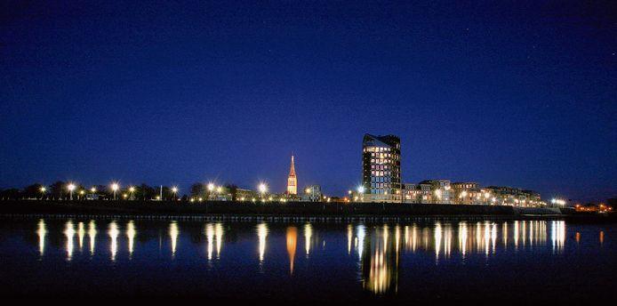 De skyline van Doesburg is door het bouwplan van de Italiaanse architect Adolfo Natalini ingrijpend veranderd.