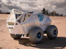 Voici BeachBot : le robot qui ramasse les mégots de cigarettes sur la plage