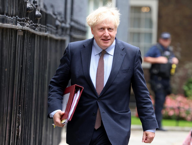 Brits premier Boris Johnson.  Beeld Photo News