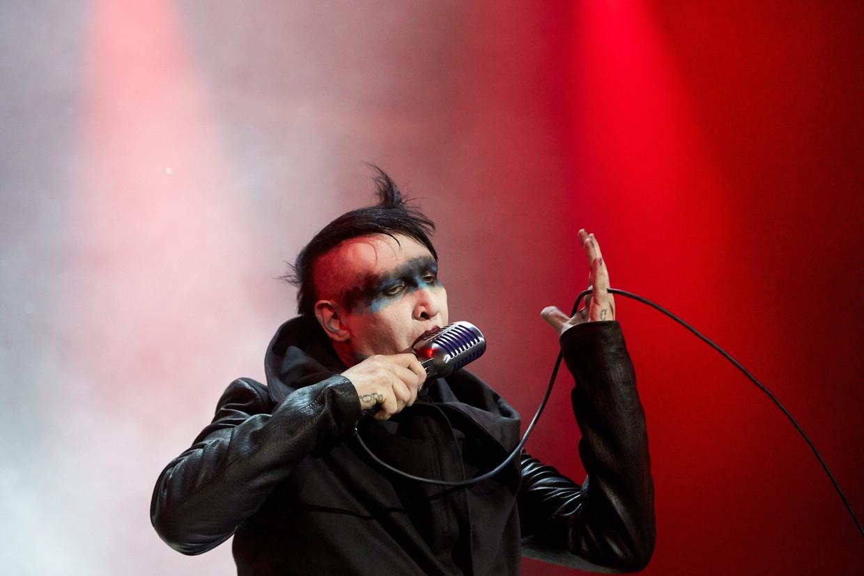 Marilyn Manson Beeld EPA