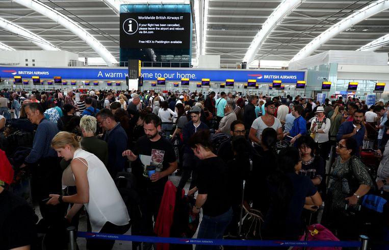 Heathrow, de grootste luchthaven bij Londen.