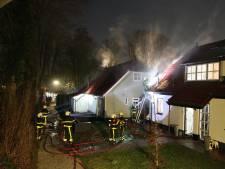 Uitslaande brand in woning Almkerk