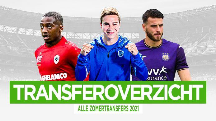 Het transferoverzicht van de zomermercato 2021.