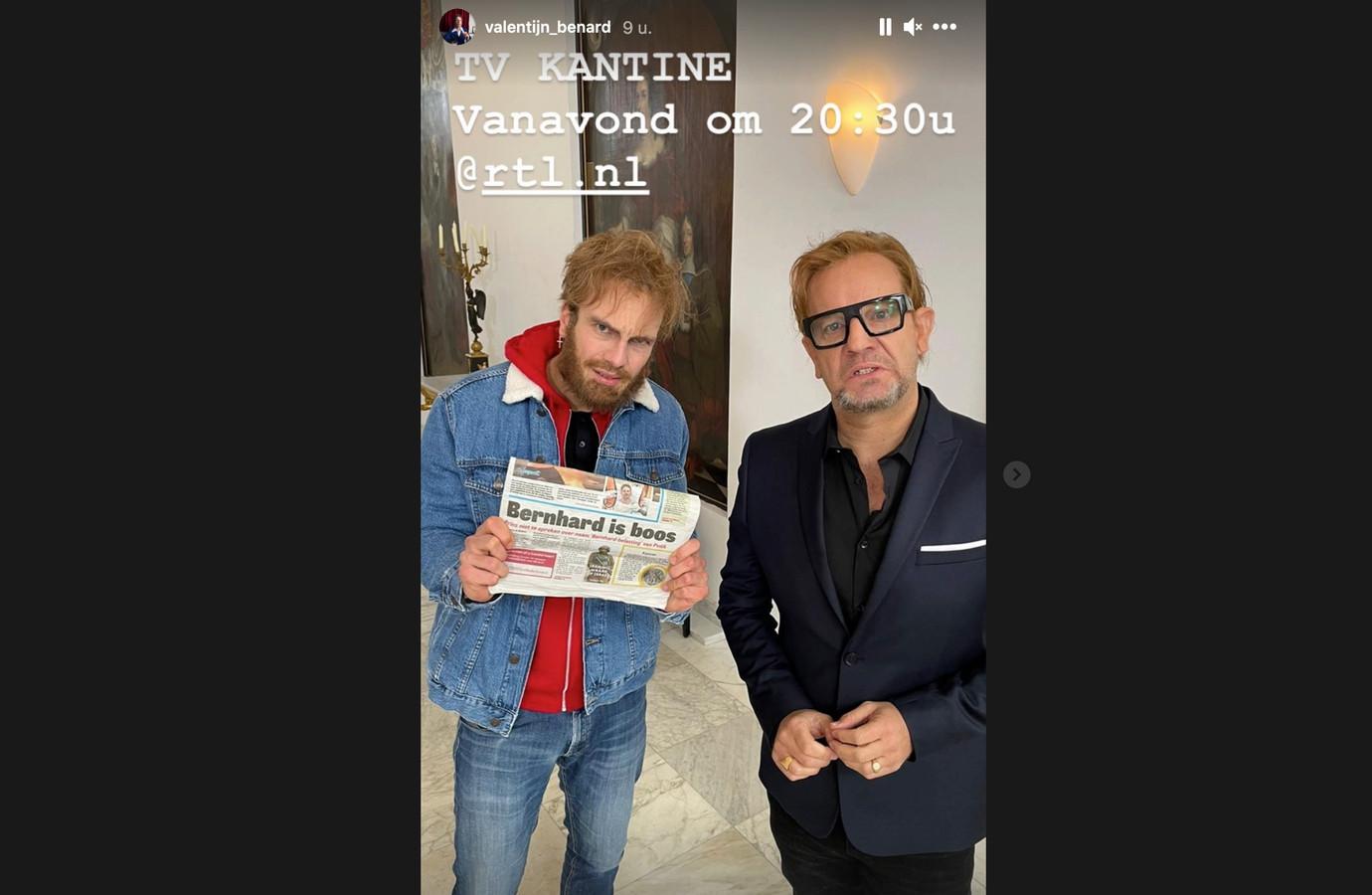 Valentijn Benard als Tim Hofman in de TV Kantine