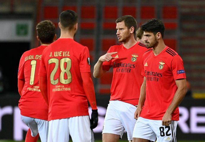 Jan Vertonghen in het shirt van Benfica.